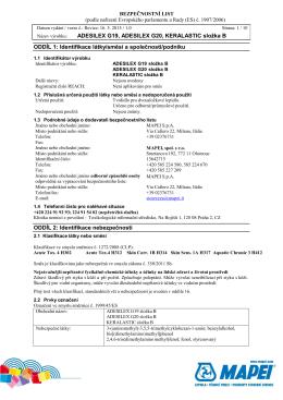 BL ADESILEX G19_G20, KERALASTIC slozka B