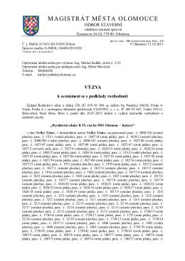 """""""Rychlostní silnice R55, stavba 5501 Olomouc"""