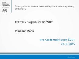 Prezentace aplikace PowerPoint - ciirc