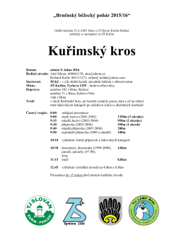 Kurimsky kros 2016