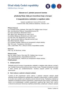 Záznam ze 3. jednání pracovní komise k HNMS_2015.06.08
