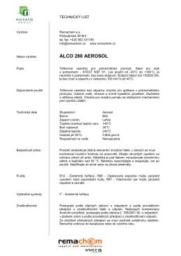 ALCO 280 AEROSOL