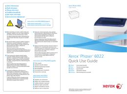 Xerox Phaser 6022NI stručný návod k použití