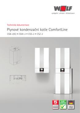 Plynové kondenzační kotle ComfortLine