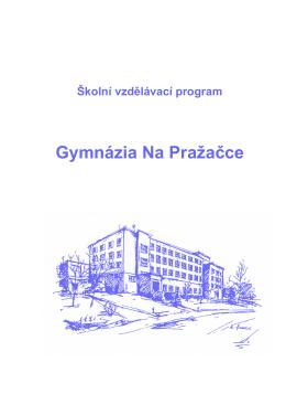 inovovaná verze - Gymnázium Na Pražačce