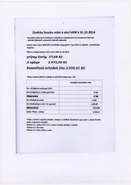 27.února 2015-Svazek měst a obcí VKM-Závěrka svazku
