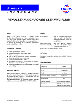 Renoclean High Power Cleaning Fluid