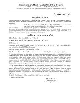 34_15_Dražební vyhláškal_Vančová.