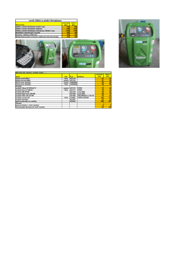 ceník čištění a plnění klimatizace