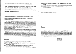 Zúber M. 1991: Donacia brevitarsis THOMSON, 1884 v ČSFR