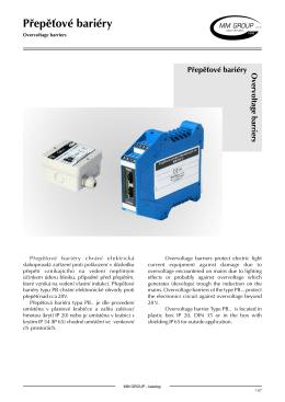 Přepěťová ochrana PBD 8007