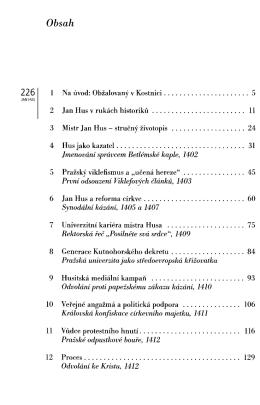 Jan Hus. Život a smrt kazatele