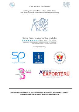 Conference proceedings - České vysoké učení technické v Praze