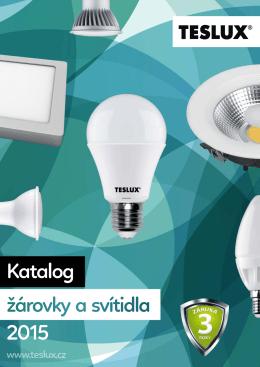 Katalog žárovky a svítidla