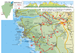 ISTRA BIKE - CHORVATSKO MAPA