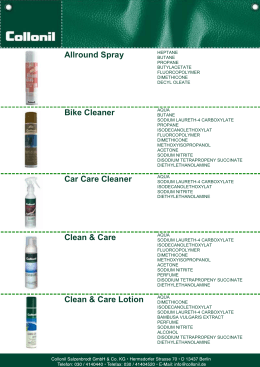 Allround Spray Bike Cleaner Car Care Cleaner