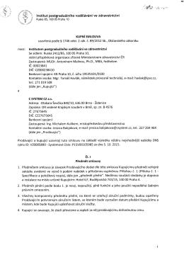 C SYSTEM CZ a.s - dodávka techniky