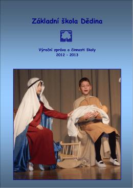 Výroční zpráva 2012-2013