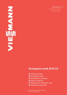 ceník Viessmann 2015
