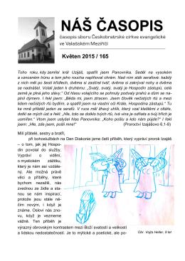 NÁŠ ČASOPIS Květen 2015 / 165