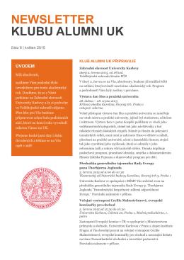 číslo 5/2015  - Informační, poradenské a sociální