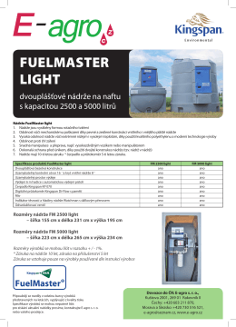 FUELMASTER LIGHT - E