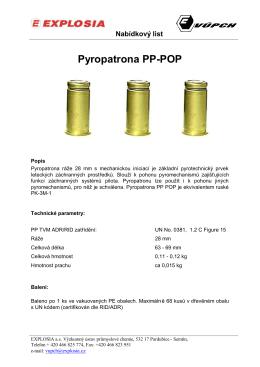 Pyropatrona PP-POP