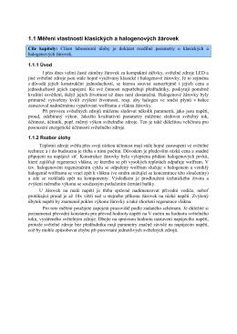 1.1 Měření vlastností klasických a halogenových žárovek