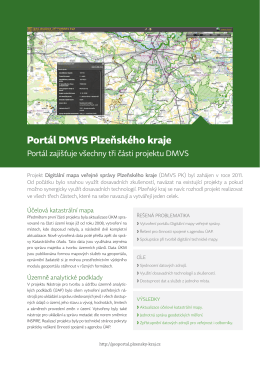 Portál DMVS Plzeňského kraje