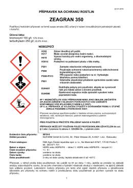 Zeagran 350 etk CLP 13-02-2015