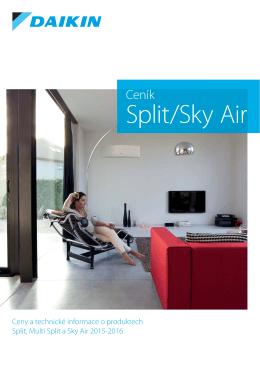 Split/Sky Air - Klimatizace Daikin