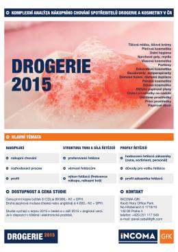DROGERIE 2015