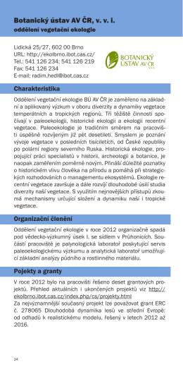 Botanický ústav AV ČR, v. v. i.