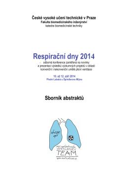 Respirační dny 2014 - Ventilation.cz