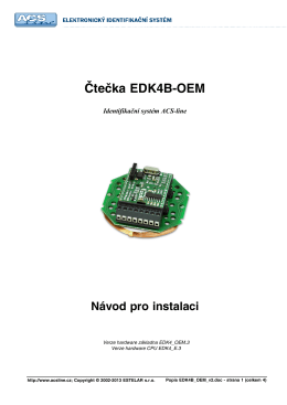 Popis EDK4B_OEM_v2