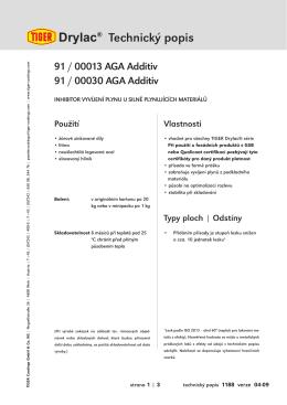Drylac® Technický popis