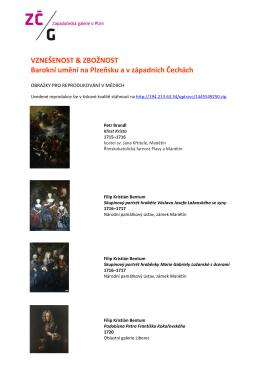 VZNEŠENOST & ZBOŽNOST Barokní umění na Plzeňsku a v