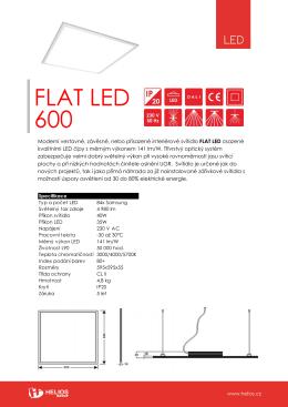 109 Flat LED