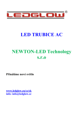 LED TRUBICE AC - NEWTON