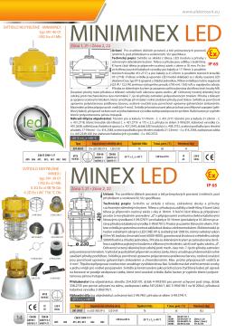 MINIMINEX LED MINEX LED
