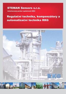 STEMAN Sensors s.r.o. Regulační technika, kompenzátory a