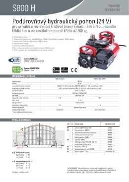 S800 H