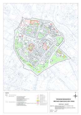 Program regenerace MPZ Opava, grafika část - zeleň