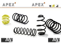Apex - automobilové pružiny