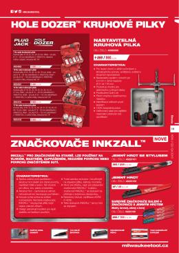 hole dozer™ kruhové pilky značkovače inkzall