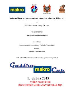 propozice Gatro-makro-cup 2015