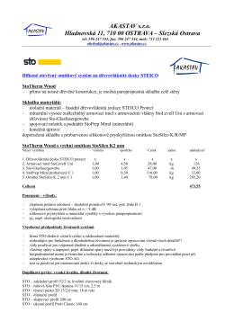 AKASTAV s.r.o. Hladnovská 11, 710 00 OSTRAVA – Slezská Ostrava