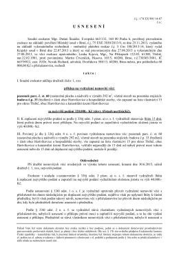 příklep 901-14 - Mgr. Dušan Šnaider