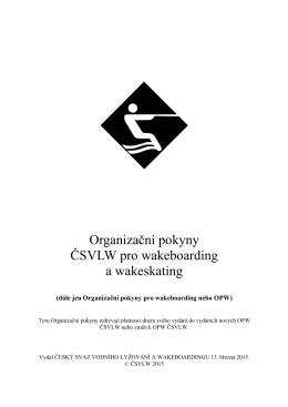 OP 2015 - Český svaz vodního lyžování