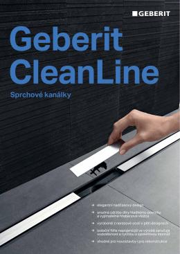 Geberit-cleanline-sprchove-kanalky-2015 - KOUPELNY